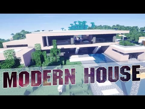 Modern Beach House aspire] modern beach house 2 minecraft project