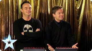 Ant and Dec play Catchphrase with Stephen | Britain's Got Talent 2014