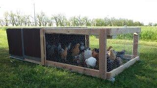 Easy DIY Chicken Tractor