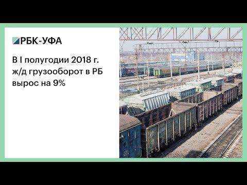В I полугодии 2018 г. ж/д грузооборот в РБ вырос на 9%