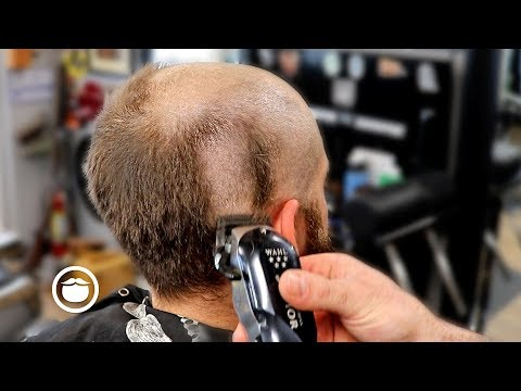 Dramatic Bald Head Shave Transformation | The Dapper Den Barbershop