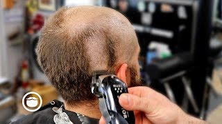 Dramatic Bald Head Shave Transformation | The Dapper Den Barbershop