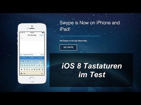 iOS 8 Tastaturen SwiftKey, Swype & Co