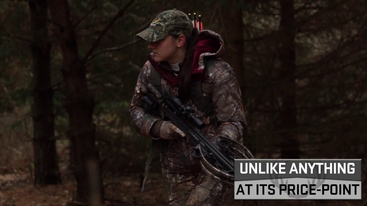 Measuring 6.5-inches wide and sending arrows down-range up to 380 feet-per-second, this tack-driving crossbow is unlike any competitor at its price-point.