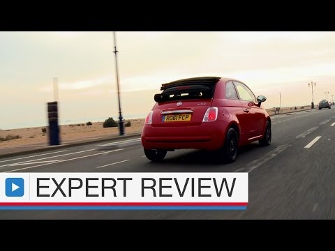 Fiat 500C convertible car review