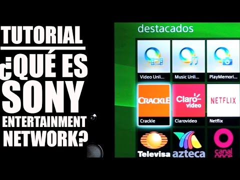 Tutorial ¿Cómo funciona Sony Entertaiment Network?