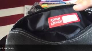 ROUGH ENOUGH classic pouch