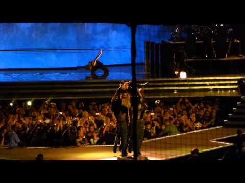 "Madonna - ""Papa Don't Preach/Hung Up"" live at Yankee Stadium 9-6-2012"