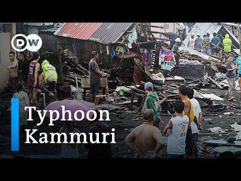Philippines hit by devastating Typhoon Kammuri | DW News