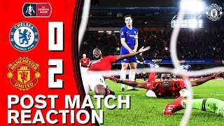 Pogba & Herrera Delighted With FA Cup Win At Chelsea | Chelsea 0-2 Manchester United | Reaction