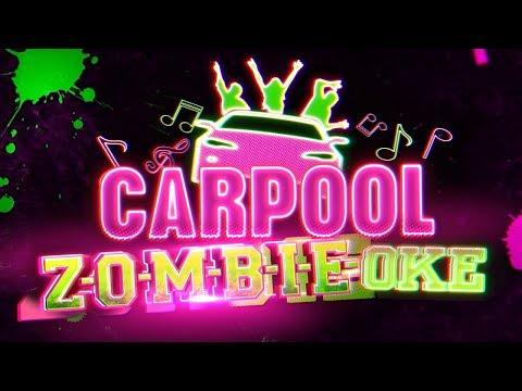Carpool ZOMBIE-oke 🚗🎼 | ZOMBIES | Disney Channel