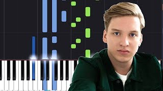 "George Ezra   ""Shotgun"" Piano Tutorial   Chords   How To Play   Cover"
