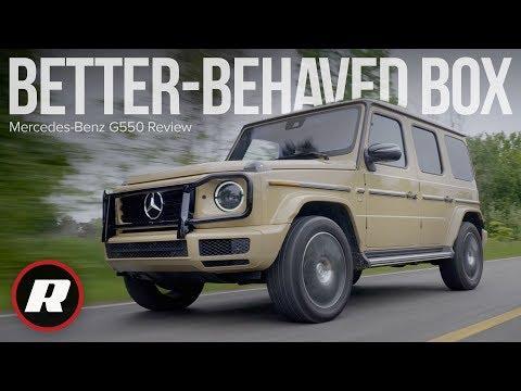 2019 Mercedes-Benz G550 Review: A cushier, better-behaved box on wheels