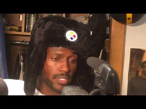 Antonio Brown talks facing New England Patriots