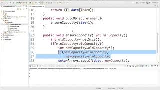 Dynamic Array implementation in Java
