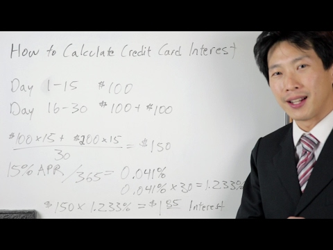 Video How Credit Cards Calculate Interest | BeatTheBush