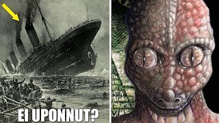 Titanic ei uponnut & Liskot hallitsee maailmaa? (5 HULLUINTA salaliittoteoriaa!)