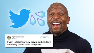 Terry Crews Reads Thirst Tweets