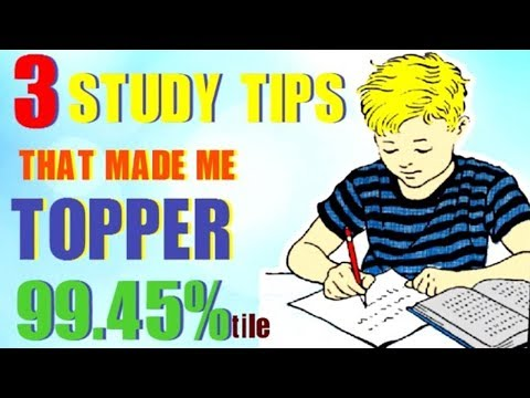 3 SECRET STUDY TIPS TO SCORE HIGHEST IN EXAMS MOTIVATIONAL (HINDI)| HOW I BECAME TOPPER