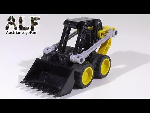 Vidéo LEGO Technic 8418 : Mini-chargeur