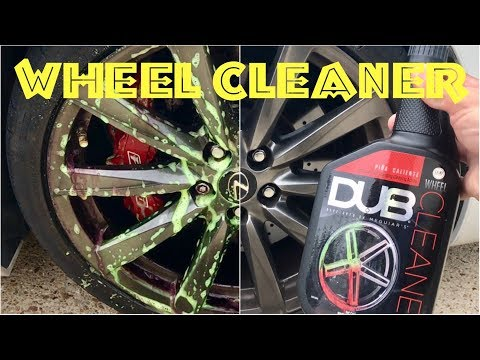 ⭕️Auto Detailing Car Care with Meguiar's DUB Wheel Rim Brake Dust Cleaner Color Change HD Review