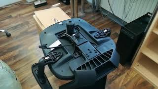 Songmics Bürostuhl aus Netzstoff OBN87BK (ergonomischer Bürodrehstuhl, Chefsessel)