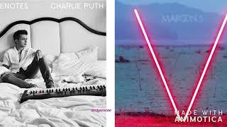 Charlie Puth vs Maroon 5 'The Way I Am, Sugar' Mash Up