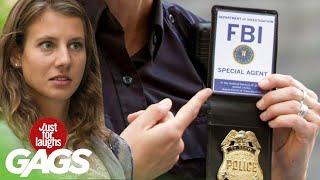 bromas Agente del FBI farsa