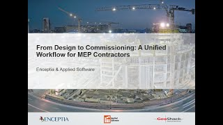Webinar: A Unified Workflow for MEP Contractors