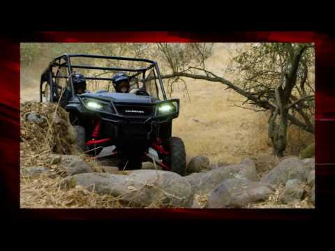 2020 Honda Pioneer 1000-5 Deluxe in North Reading, Massachusetts - Video 2