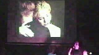 "Janet Kuypers sings ""True Happiness This Way Lies"" (The The) 09/10/02 in Chicago ""Stop."" show"