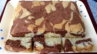 Chocolate Marble Cake | Kitchen Time With Neha