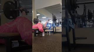165lbs flat bench pause reps