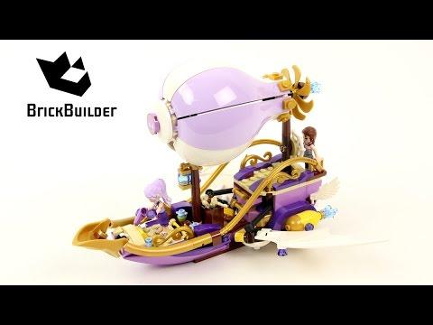 Vidéo LEGO Elves 41184 : Le dirigeable d'Aira et la poursuite de l'amulette