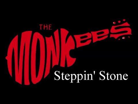 The Monkees - Steppin' Stone ( lyrics )