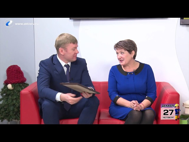 Гости программы «Новый день» Ольга  Ломанова и Владимир Анисимов