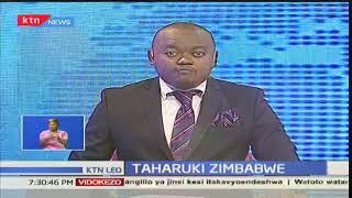Taharuki Zimbabwe:Kuna hofu ya mapinduzi nchini humo baada ya magari ya kijeshi kuonekana Harare