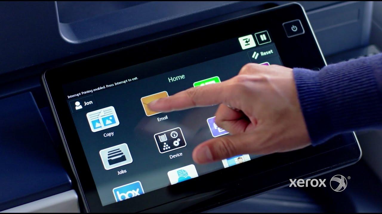 Xerox® ConnectKey® Technology – the User Interface Advantage YouTube Video