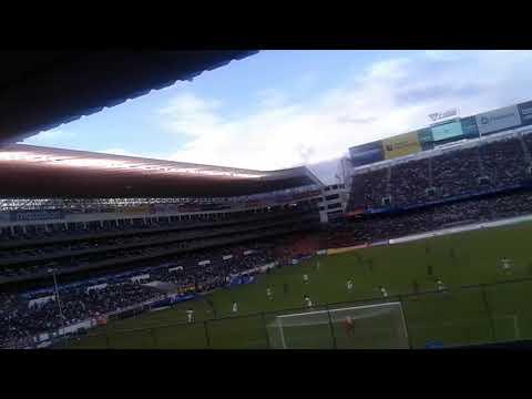 """MUERTE BLANCA LIGA VS OLMEDO 2019 / Matato LDU"" Barra: Muerte Blanca • Club: LDU"