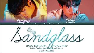 Wanna One (워너원) The Heal - 모래시계 (Sandglass) (ft. Heize)' (Color Coded Lyrics Eng/Rom/Han/가사)