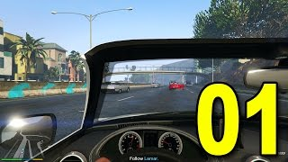 Grand Theft Auto V First Person - Part 1 - We
