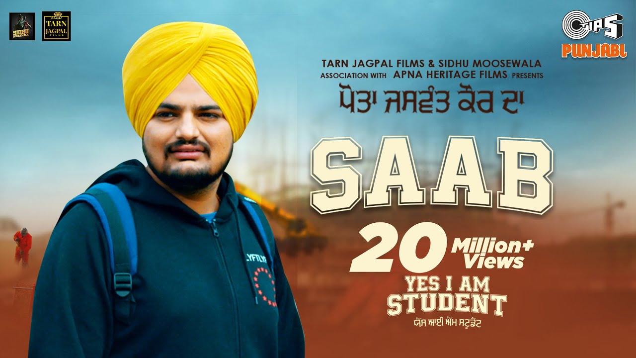 Saab lyrics from Yes I Am Student - Sidhu Moose wala | spacelyrics
