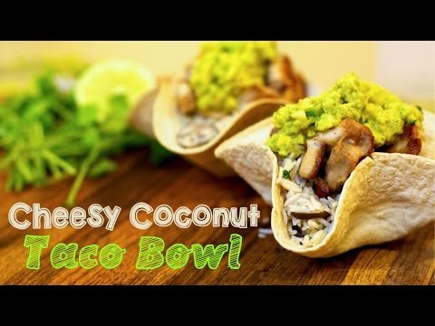 Cheesy Coconut Rice Chicken Taco Bowl with Ginger Guac – KoKo's From Cheeseland