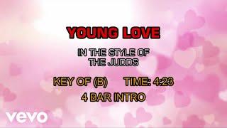 The Judds - Young Love (Karaoke)