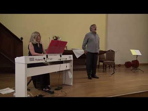 Gabriel Fauré, En prière pour voix et piano<br /><br /> Antoine Normand ténor, Brigitte d'Andréa-Novel piano<br /> Temple de Dieulefit, 19 août 2020