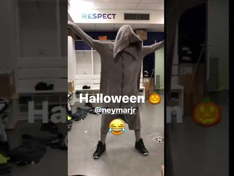Neymar fantasma di Halloween!
