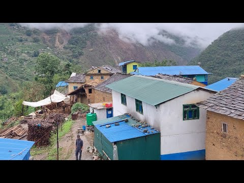 Poor but Very Very Happy Village Life || Nepal Mountain Village Lifestyle Part 5 || Primitive Nepal