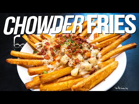 CHOWDER FRIES – HOMEMADE & HOLY S#!% SO GOOD!