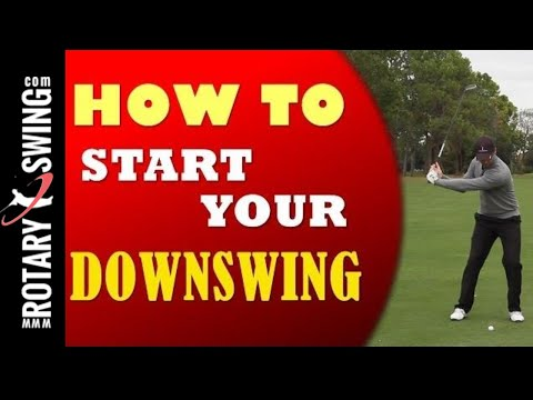 How to Start Your Downswing in Golf
