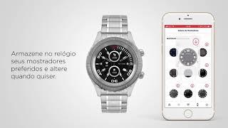 d795cbb03 Relógio Technos Connect - Como alterar o mostrador do seu Relógio Technos  Connect
